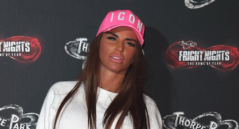 Katie Price said she finally feels in control of her own life. (Getty Images)