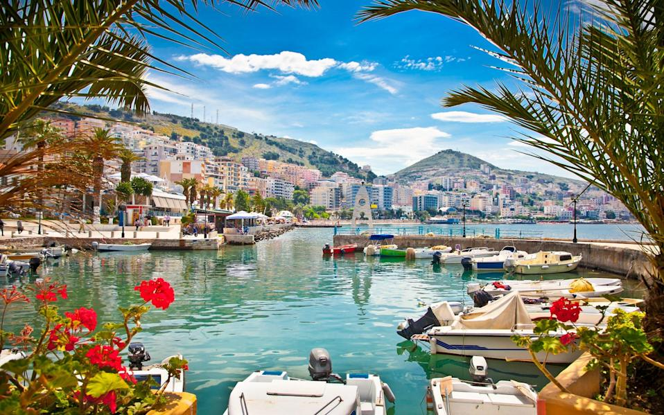 port with boats and flowers - Getty Images/iStockphoto