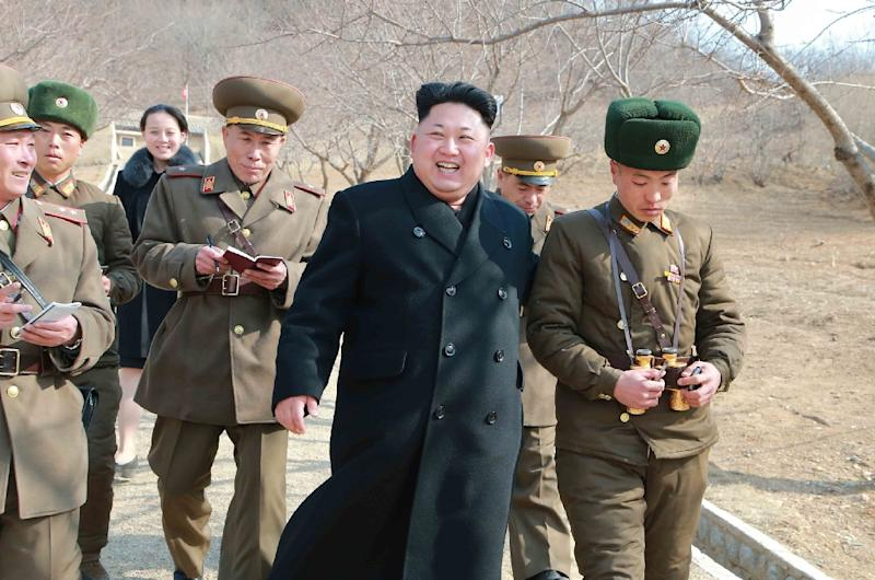 Kim Jong Un is believed never to have previously left the North since ascending to power (AFP Photo/-)