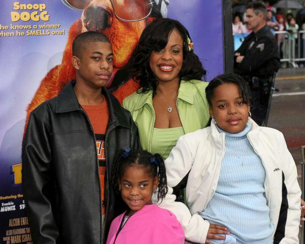 PHOTO: Niecy Nash and her family appear at the Los Angeles premiere of the film, 'Racing Stripes' at Grauman's Chinese Theatre in Hollwood, Calif., Jan. 8, 2005. (Mike Fanous/Gamma-Rapho via Getty Images)