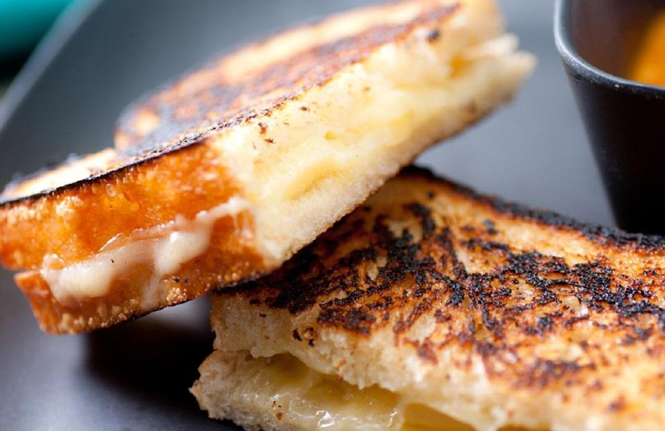 """<p>This recipe will <a href=""""https://www.thedailymeal.com/grilled-cheese-recipes?referrer=yahoo&category=beauty_food&include_utm=1&utm_medium=referral&utm_source=yahoo&utm_campaign=feed"""" rel=""""nofollow noopener"""" target=""""_blank"""" data-ylk=""""slk:take your grilled cheese from a childhood favorite"""" class=""""link rapid-noclick-resp"""">take your grilled cheese from a childhood favorite</a> to a sophisticated sandwich with one simple ingredient: Cajun seasoning. Buy it from the store or make the blend yourself with cayenne pepper, garlic powder, paprika, oregano, thyme and onion powder. It will give your sandwich a bold and spicy flavor.</p> <p><a href=""""https://www.thedailymeal.com/cajun-grilled-cheese-sandwich?referrer=yahoo&category=beauty_food&include_utm=1&utm_medium=referral&utm_source=yahoo&utm_campaign=feed"""" rel=""""nofollow noopener"""" target=""""_blank"""" data-ylk=""""slk:For the Cajun Grilled Cheese recipe, click here."""" class=""""link rapid-noclick-resp"""">For the Cajun Grilled Cheese recipe, click here.</a></p>"""