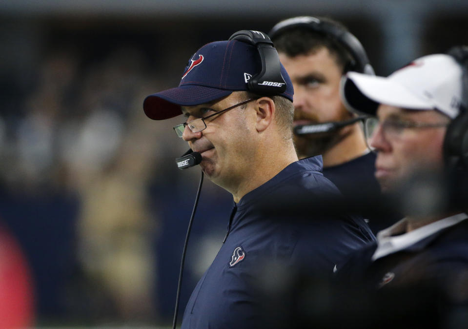 Houston Texans head coach Bill O'Brien and his team made many big moves Saturday. (AP)