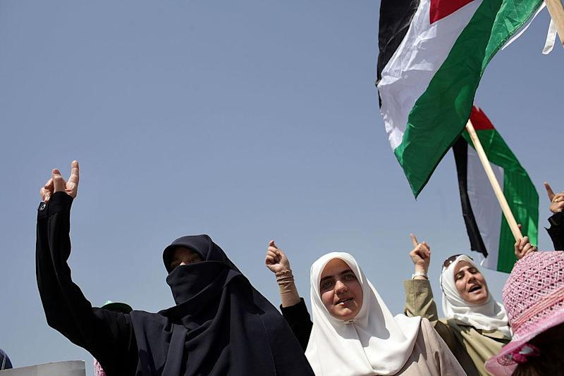Women participate in a rally in the Jordanian capital of Amman in this file photo from July 8 2011: Getty Images