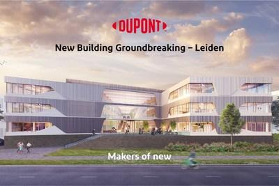 Artist impression of the new DuPont Industrial Biosciences site in the Netherlands. Image courtesy of Dura Vermeer and Ector Hoogstad Architecten