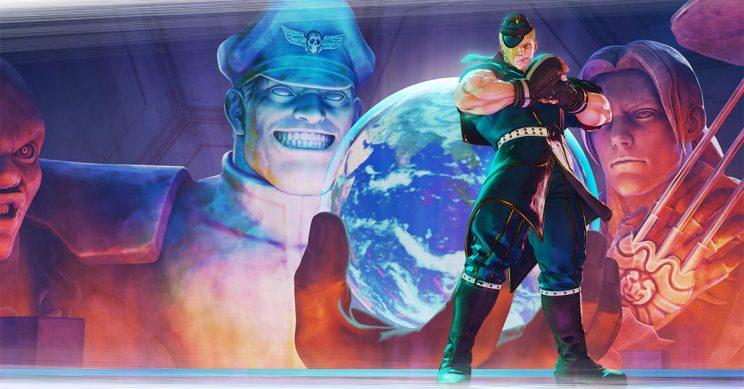 Street Fighter V DLC character Ed on the Four Kings stage