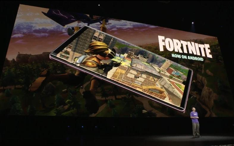 Fortnite is available on smartphones and consoles