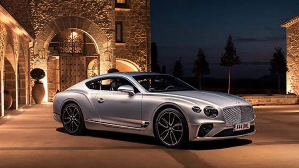 Bentley produces over 80,000 units of Continental GT coupe