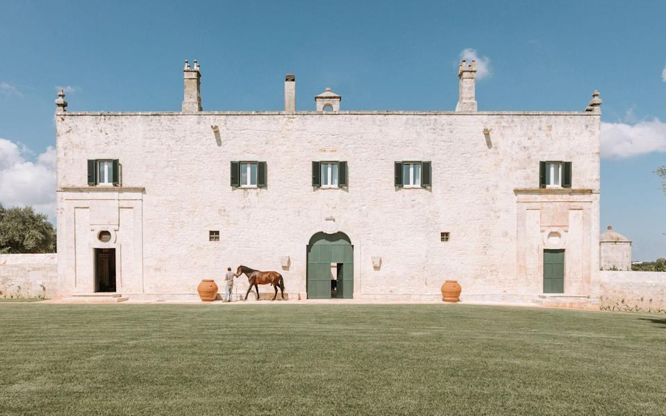 17th-century farmhouse, Masseria Lamacoppa