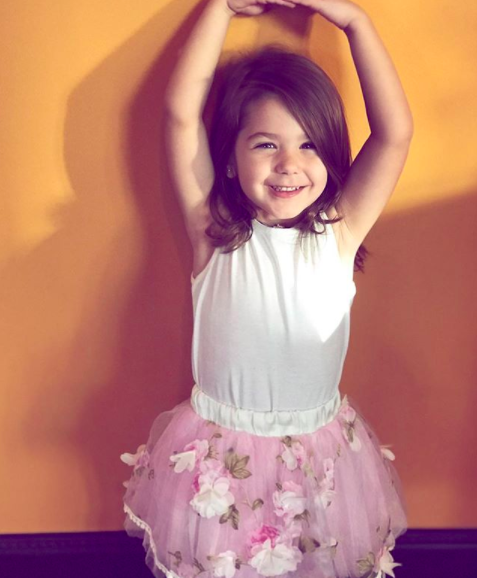 Liriana's mum has defended letting her daughter wear makeup. Photo: Instagram
