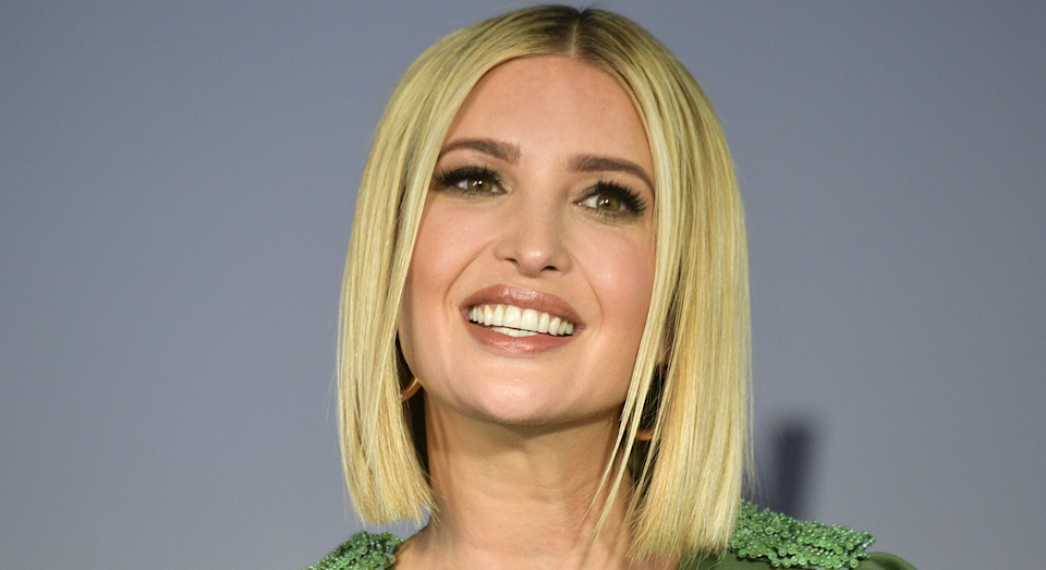 Ivanka Trump showcased a new hairstyle on Monday [Photo: Getty Images]