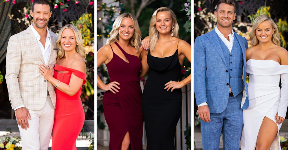 Elly and Becky Miles on The Bachelorette