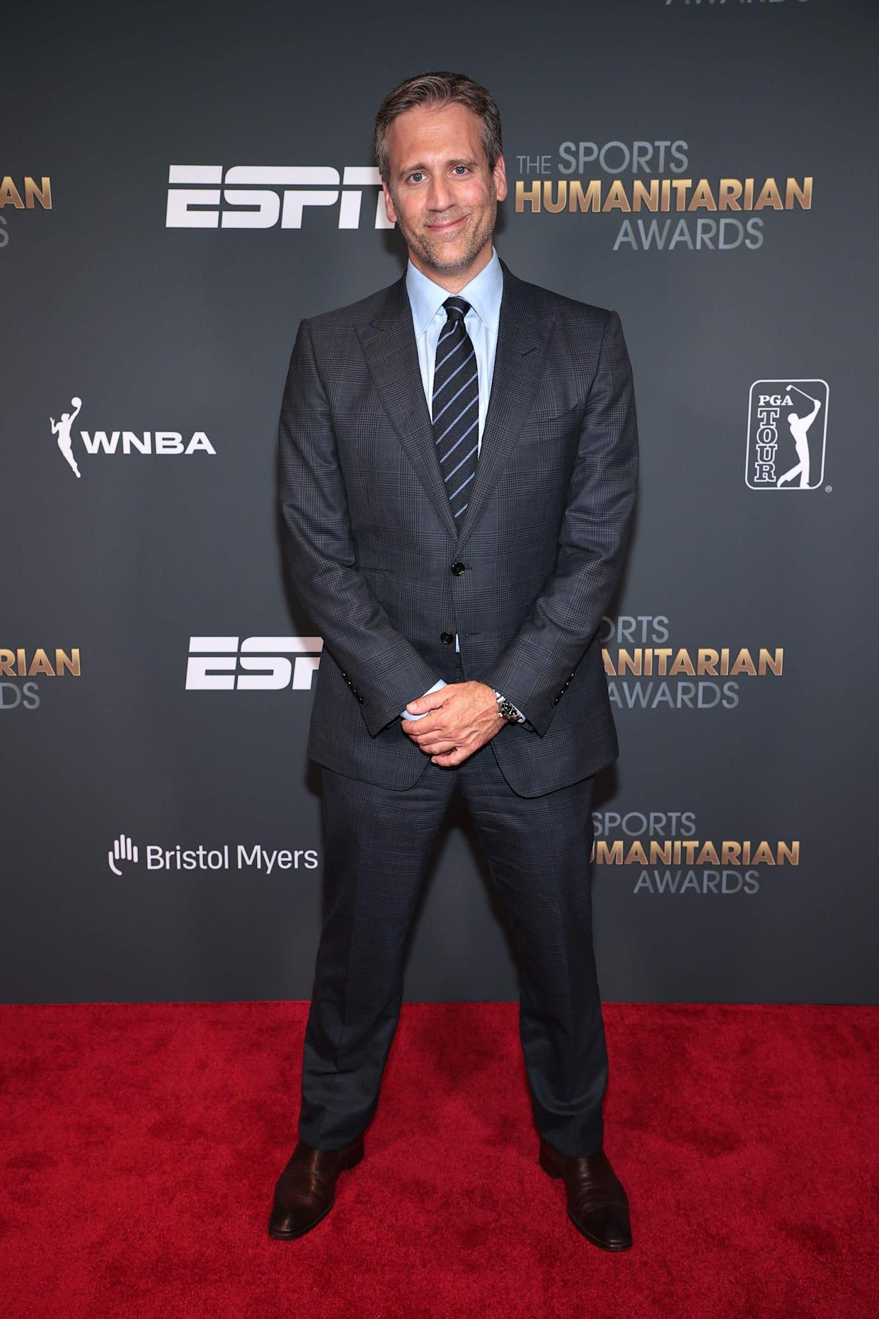 Max Kellerman attends the 2021 Sports Humanitarian Awards on July 12, 2021 in New York City.