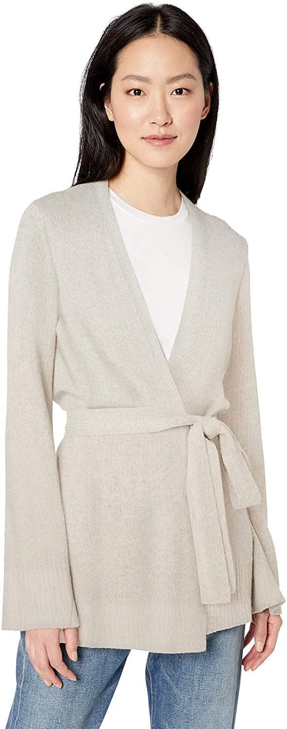 <p>This <span>Daily Ritual Wool Blend Long-line Open-Front Cardigan Sweater</span> ($39.) is a great layering piece.</p>