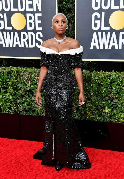 PHOTO: Cynthia Erivo attends the 77th Annual Golden Globe Awards at The Beverly Hilton Hotel on Jan. 05, 2020, in Beverly Hills, Calif. (Frazer Harrison/Getty Images)