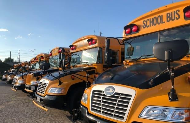 Bus drivers were not included in the first round of vaccinations this week for high school staff in preparation for the full-time return to school on April 12.