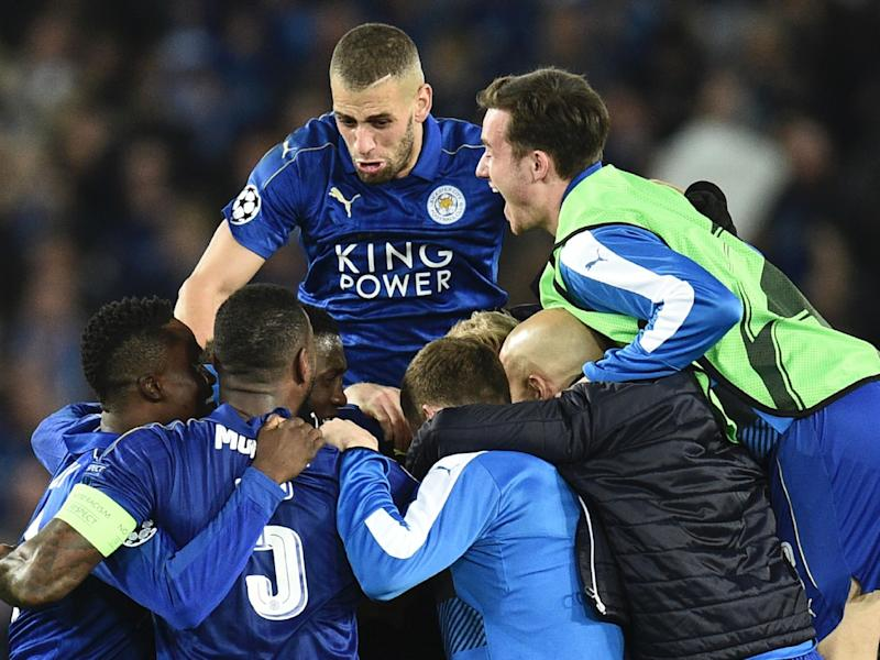 Leicester have reached the Champions League quarter-finals for the first time in their history: Getty