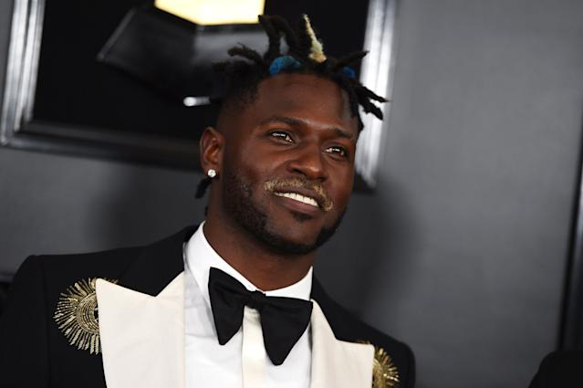 Antonio Brown reportedly could be traded this week. (AP)