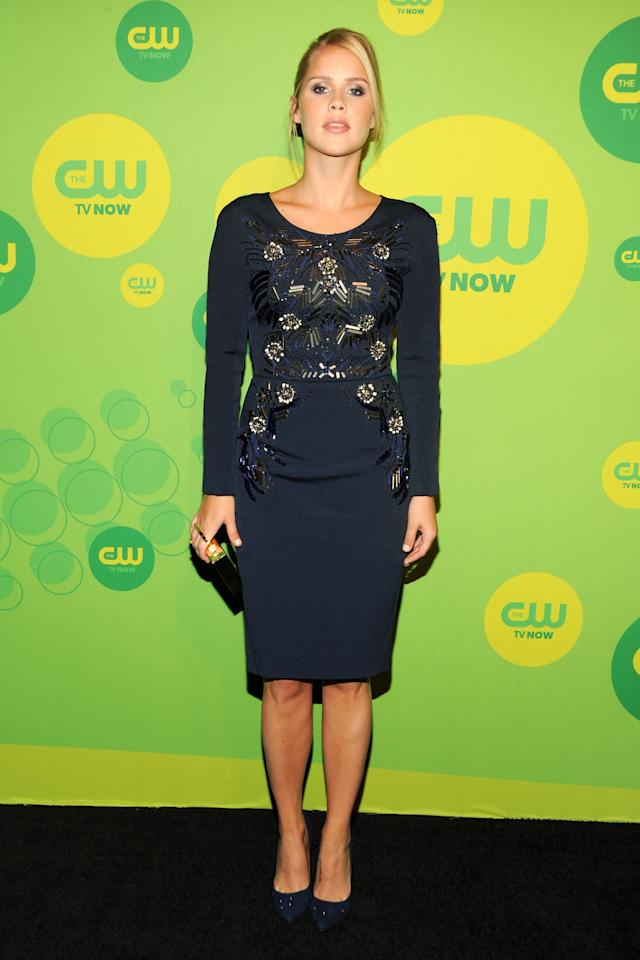 NEW YORK, NY - MAY 16:  Actress Claire Holt attends The CW Network's New York 2013 Upfront Presentation at The London Hotel on May 16, 2013 in New York City.  (Photo by Ben Gabbe/Getty Images)