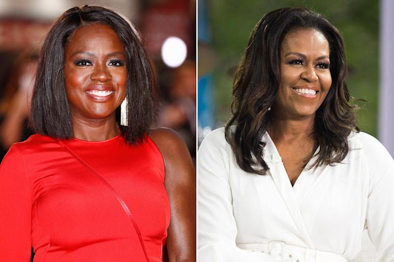Viola Davis will play Michelle Obama in prospective Showtime anthology series First Ladies