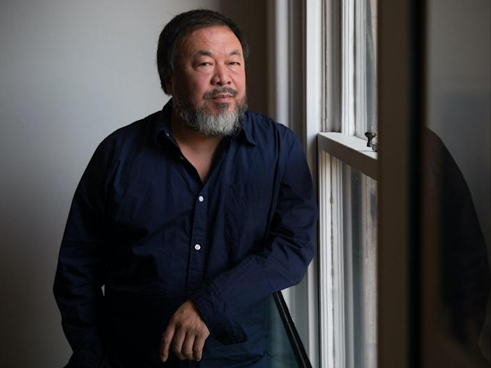 Ai Weiwei and Anthony Gormley are involved in The Great British Art Exhibition (Getty Images)