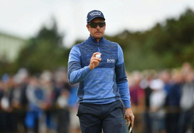 Henrik Stenson was the victim of a burglary on Thursday at the Open Championship. (Getty)