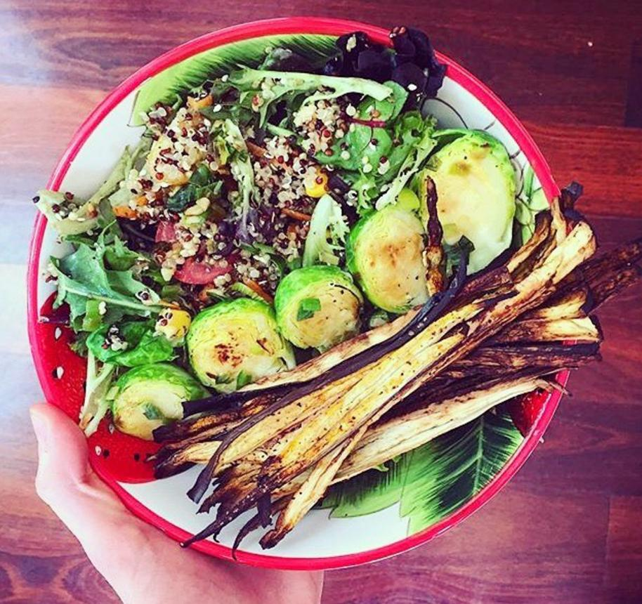 <p>Aubergines as carbs isn't too surprising given that 2016 was the year of courgetti. Bring it on. [Photo: Instagram/eggplant_diaries] </p>