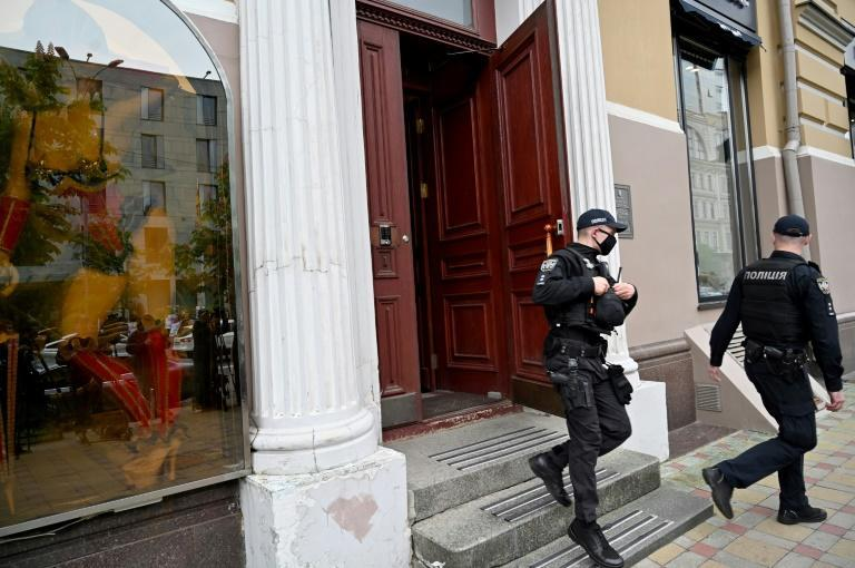 The SBU security service said the raid on the building had nothing to do with Klitschko