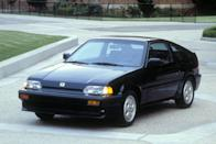"""<p>Of course, our pick of the litter is the sporty CRX Si, <a href=""""http://www.caranddriver.com/reviews/honda-civic-crx-15si-review"""" rel=""""nofollow noopener"""" target=""""_blank"""" data-ylk=""""slk:which introduced fuel injection to the CRX lineup in 1985"""" class=""""link rapid-noclick-resp"""">which introduced fuel injection to the CRX lineup in 1985</a>, bringing with it a thrilling (yes, for real) 91 horsepower to propel less than 1900 pounds. <em>—Alexander Stoklosa</em></p>"""