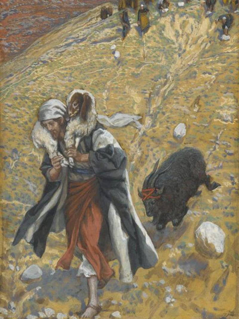 'Agnus-Dei: The Scapegoat' by James Tissot, painted between 1886 and 1894