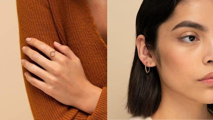 For the jewelry lover: Mejuri Jewelry