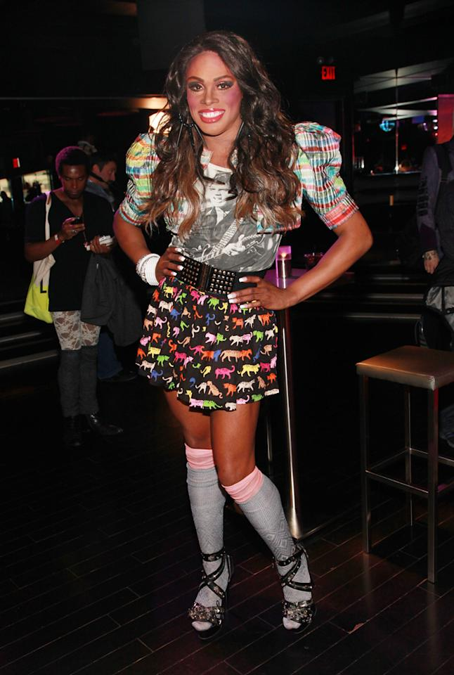 """Dida Ritz attends the """"<a target=""""_blank"""" href=""""http://tv.yahoo.com/rupaul-39-s-drag-race/show/44202"""">RuPaul's Drag Race</a>"""" Season 4 Finale Viewing Party at XL Nightclub on April 30, 2012 in New York City."""