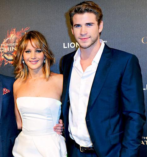 Jennifer Lawrence, Liam Hemsworth Almost Catch on Fire, Literally, at Cannes