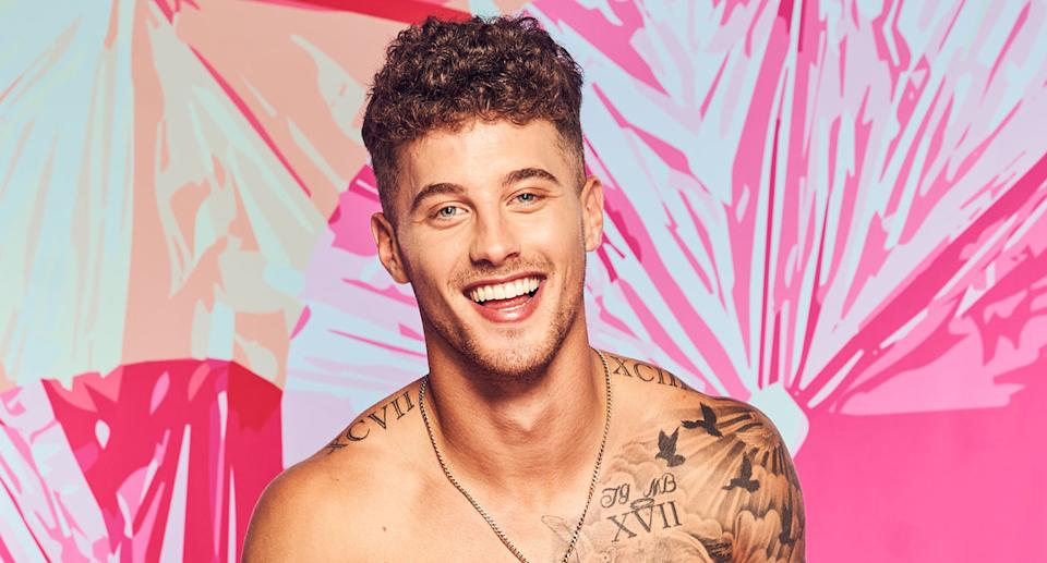 Josh Goldstein was looking for love this summer on Love Island USA (Sara Mally/CBS via Getty Images)
