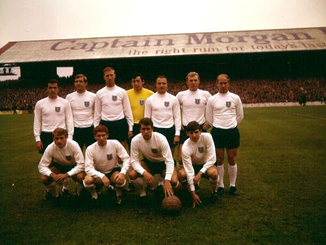 Hunt made34 appearances for England, including against Wales in 1968