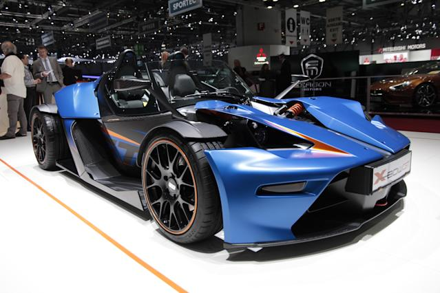 The standard X-Bow is hardly the most sensible of vehicles, so the announcement of a GT version might make you think it's suddenly become sensible; not a bit of it. (PA)