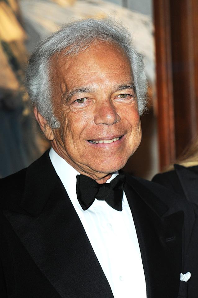 "October 14: Ralph Lauren turns 71 Dominique Charriau/<a href=""http://www.wireimage.com"" target=""new"">WireImage.com</a> - April 14, 2010"