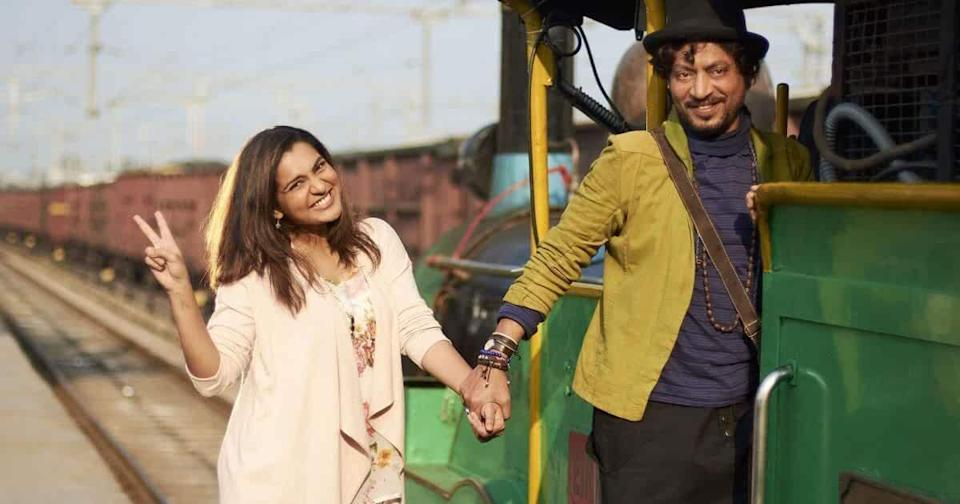 Few actors have owned the space of making garrulous and unconventional characters relatable and Irrfan with his natural warmth and wit is a master of it. In this love story unfolding along a road trip, Irrfan plays Yogi, a charmingly loud small-time poet whose ideas about love and life are polar opposite to the woman he is dating with.