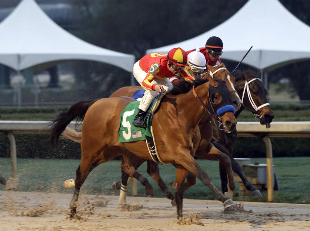 Hoppertunity outduels Tapiture to win Rebel Stakes