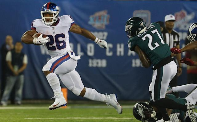Which Jets, Giants, Eagles landed on Sports Illustrated's list of best NFL players 25 and younger? Saquon Barkley ahead of Alvin Kamara?