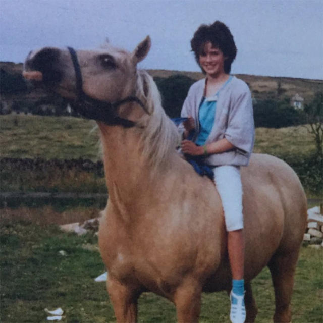 """<p>Years before Headey starred on <i>Game of Thrones</i>, she wore socks with sandals while sitting atop a horse, as <em>so many</em> of us did back then. (Photo: <a href=""""https://www.instagram.com/p/BZqq07rBrrM/?hl=en&taken-by=iamlenaheadey"""" rel=""""nofollow noopener"""" target=""""_blank"""" data-ylk=""""slk:Lena Headey via Instagram"""" class=""""link rapid-noclick-resp"""">Lena Headey via Instagram</a>) </p>"""