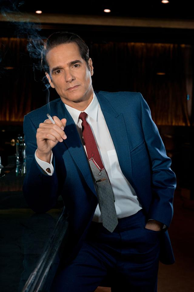 "Yul Vazquez as Victor Lazaro in ""Magic City"" Season 2."