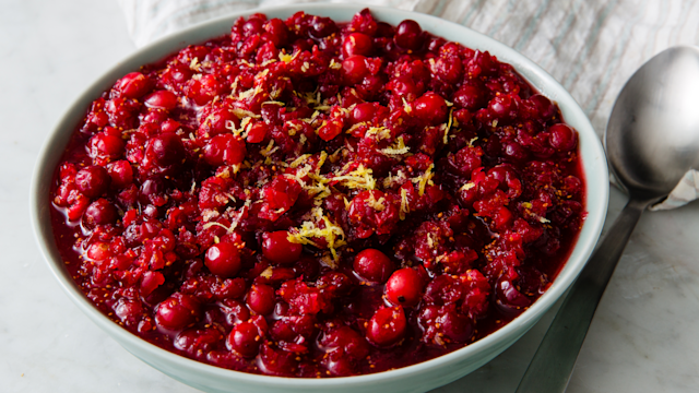 "<p>These cranberry sauce recipes are easy as <span>pumpkin pie</span>, and will definitely make you a believer in keeping things homemade for the holidays. Looking for some more <span>Thanksgiving sides</span> to fill up your holiday table? Check out this collection of delicious, festive food for the best ever <a href=""http://www.delish.com/holiday-recipes/thanksgiving/"" rel=""nofollow noopener"" target=""_blank"" data-ylk=""slk:Thanksgiving feast"" class=""link rapid-noclick-resp"">Thanksgiving feast</a>.</p>"