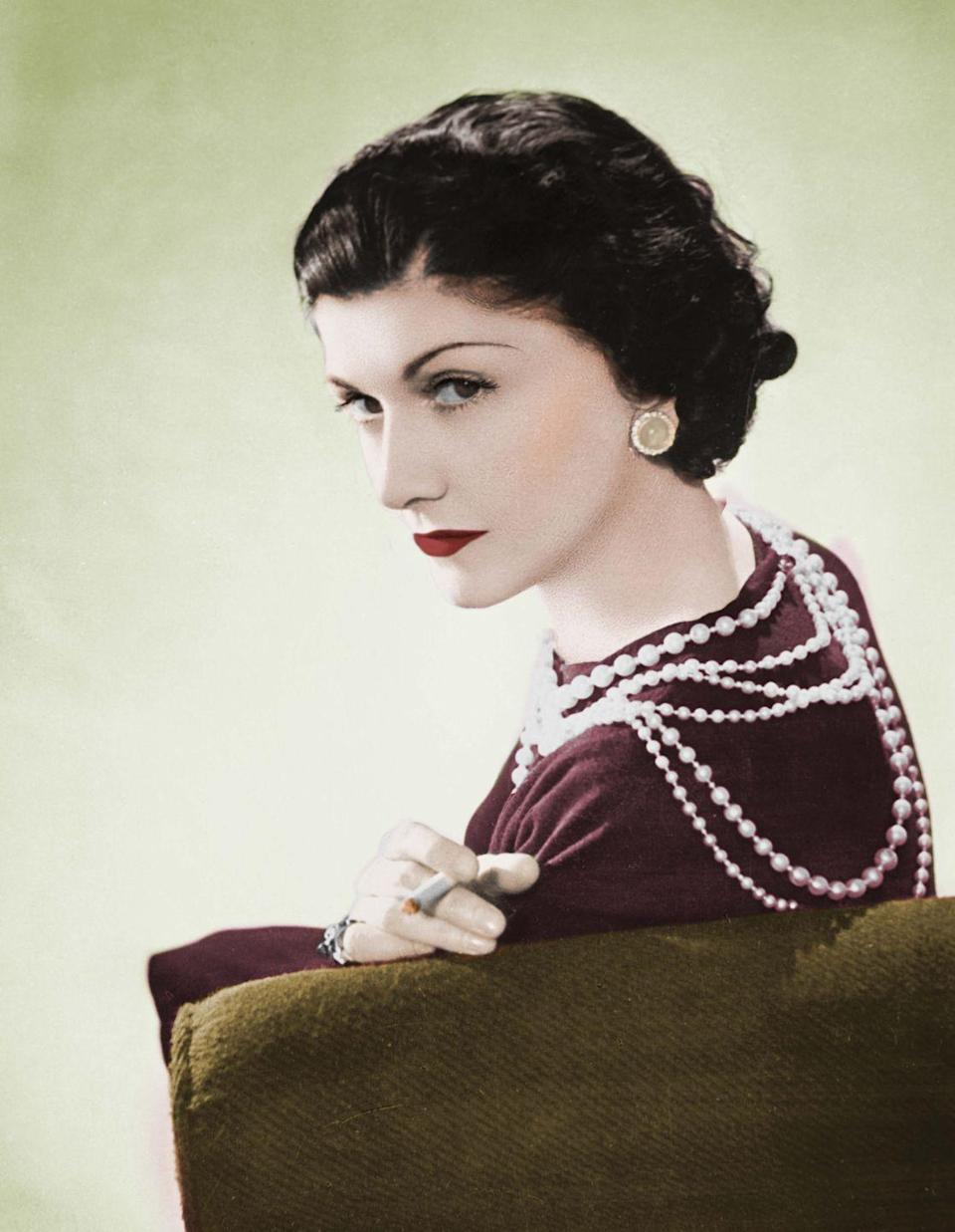 <p>Coco Chanel will forever be the master of timeless style. Rarely seen without a long strings of pearls draped around her neck, the accessory became a symbol for her ladylike poise. </p>