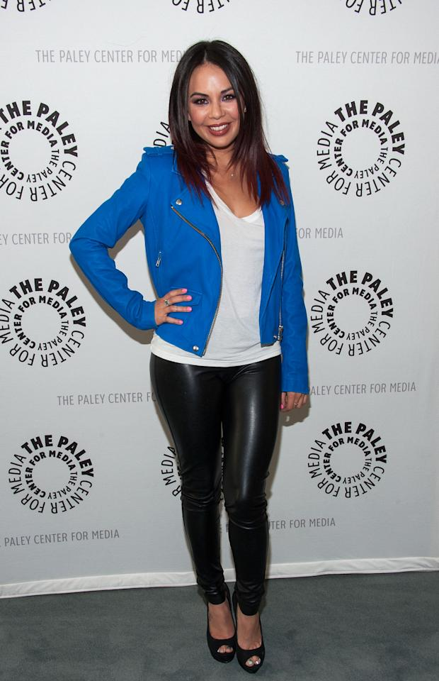 "BEVERLY HILLS, CA - JUNE 10: Janel Parrish  attends The Paley Center For Media Presents An Evening With ""Pretty Little Liars"" at The Paley Center for Media on June 10, 2013 in Beverly Hills, California. (Photo by Valerie Macon/Getty Images)"
