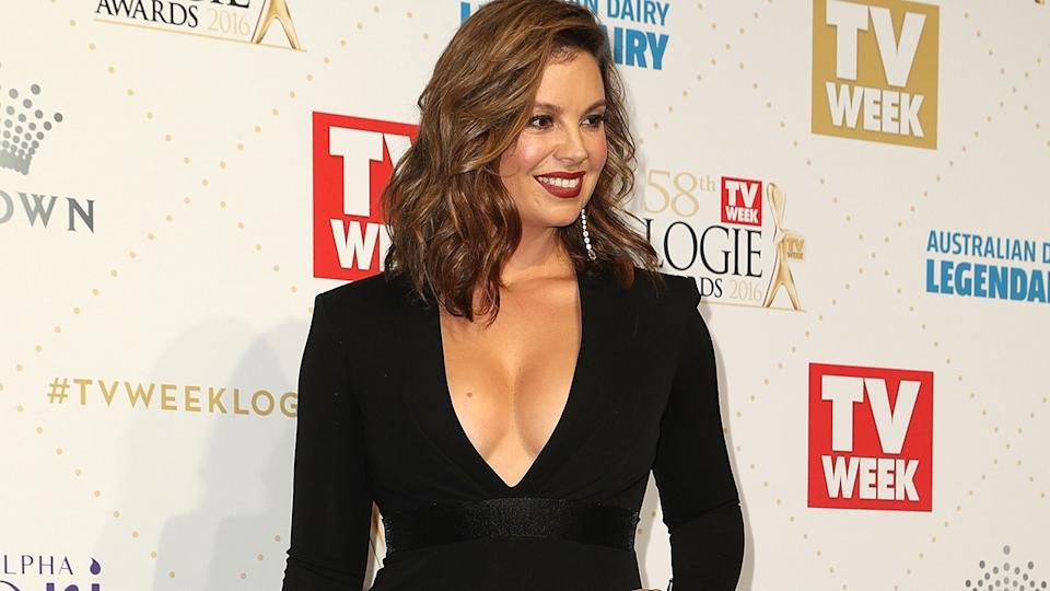 Yvonne Sampson, pictured here at the Logie Awards in 2016.