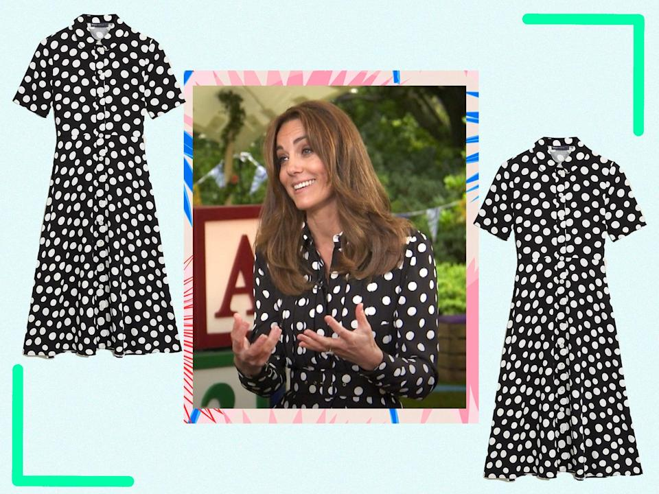 <p>If the bold print is good enough for the Duchess of Cambridge, it's good enough us</p> (BBC/iStock/The Independent)