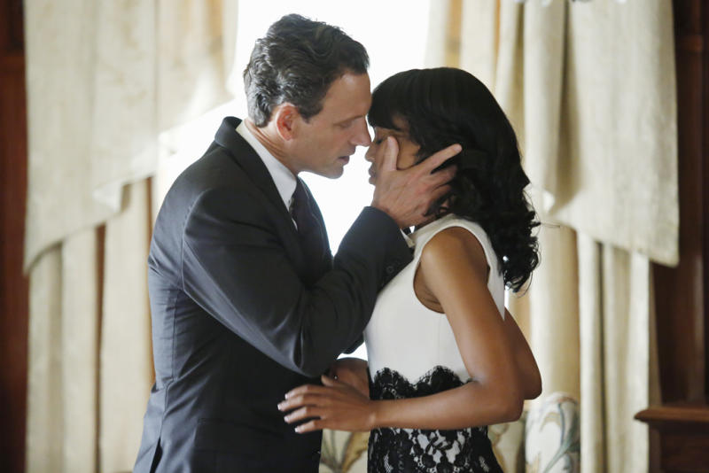 "SCANDAL- ""Happy Birthday, Mr. President"" - In the wake of a tragedy connected to the White House, Olivia returns as Press Secretary to handle a catastrophic crisis, on ""Scandal,"" THURSDAY, DECEMBER 6 (10:02-11:00 p.m., ET) on the ABC Television Network. (ABC/KELSEY MCNEAL)