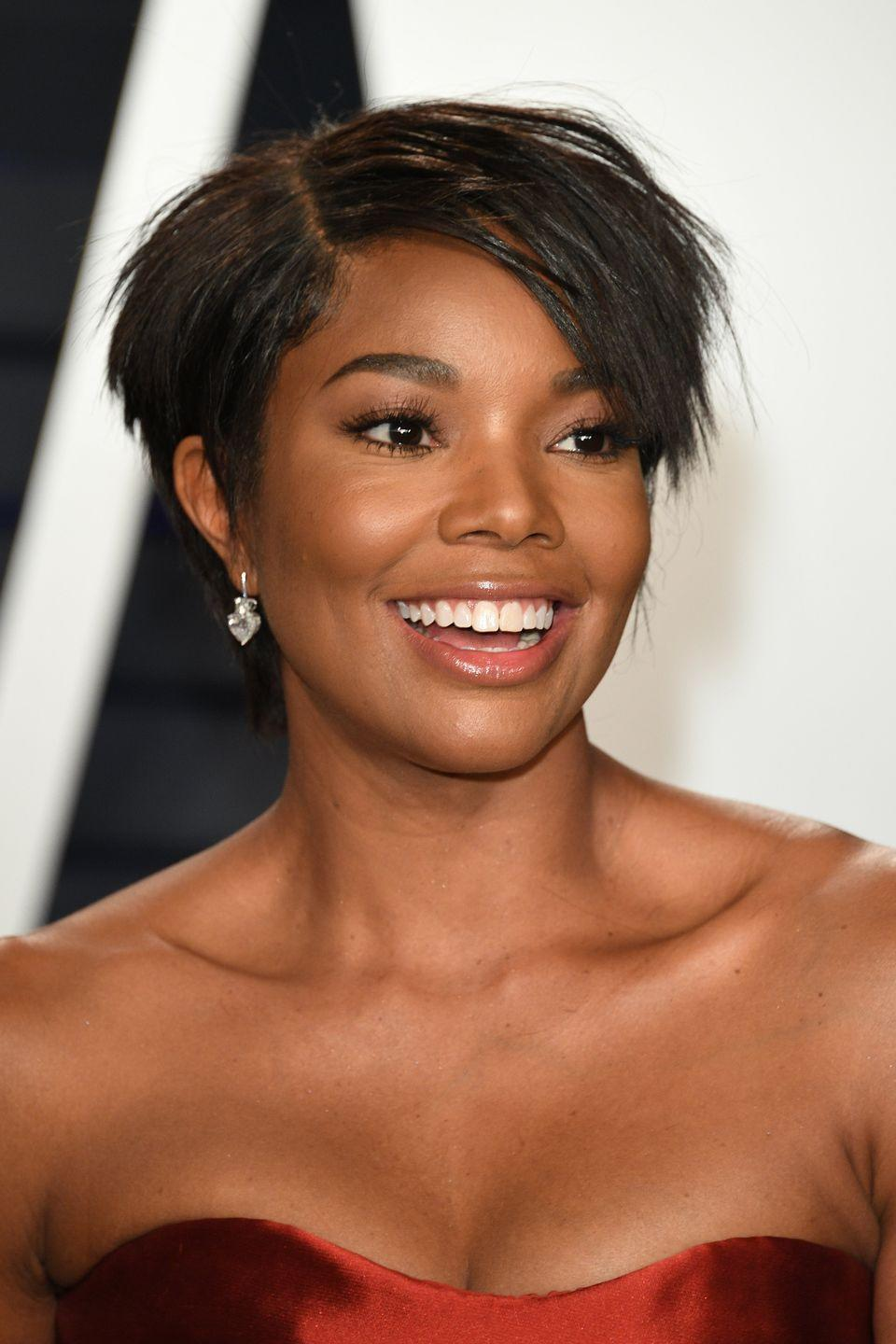 <p>Gabrielle Union's choppy pixie was short-lived, but we'd love for her to bring it back. This style holds so much shape and structure, it accentuates everything from her bone structure to her smile. </p>