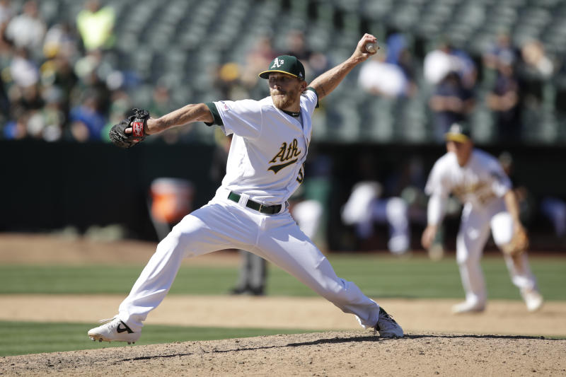A's lefty Diekman questions whether there will be a season