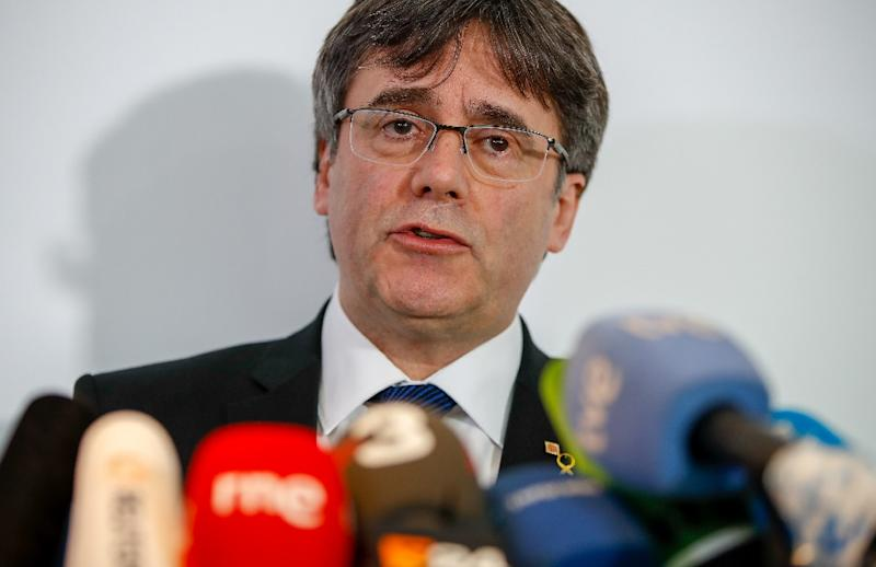 Puigdemont has been living in self-imposed exile in Belgium since Spain cracked down on his efforts to lead the Catalonia region to independence via a referendum